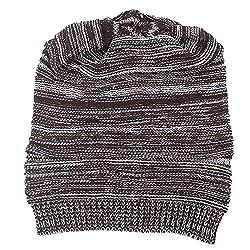 YWLINK Herren WintermüTze StrickmüTze WollmüTze Beanie Crochet Hat Ski Knit Warm Cap Pfahlkappe(Einheitsgröße,Kaffee)