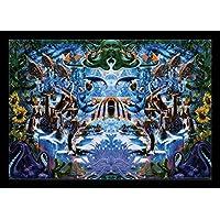 Octopus Garden (non-flocked Blacklight) Poster stampa artistica