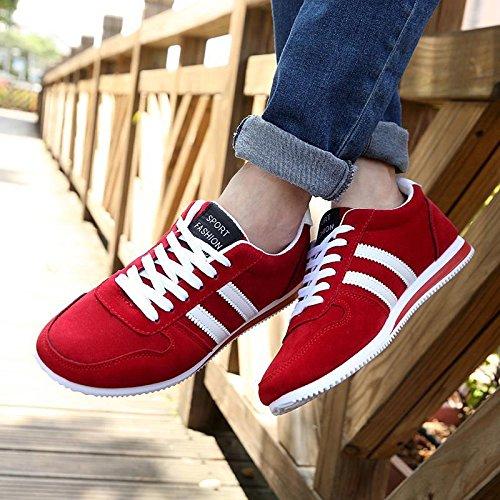 Scarpe Sportive Sneakers Da Uomo Colori a Scelta - LY-132 / LY-131 Rosso