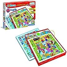 Clementoni - Conecta-Contesta, juego electrónico educativo, aprendo inglés ...