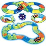 #3: Sajani Magic Track Rails with Eco-Friendly ABS Plastic Safe and Non-Toxic, not Harmful to Children- As Seen on TV (128PCS)
