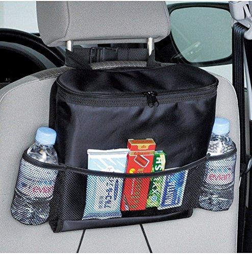 Organisateur de siège de voiture, Sac de stockage multi-tasca (calore-conservazione) Prodotti Black-B