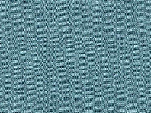 Robert Kaufman Essex Kleiderstoff Malibu aus gefärbtem Leinen, Meterware (Essex Leinen)