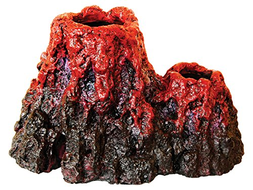 Aqua Spectra Super LED Underwater Volcano Aquarium Ornament