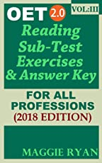 OET 2.0 Reading 2018: For All-Professions: VOL. 3 (OET 2.0 Reading Books by Maggie Ryan)