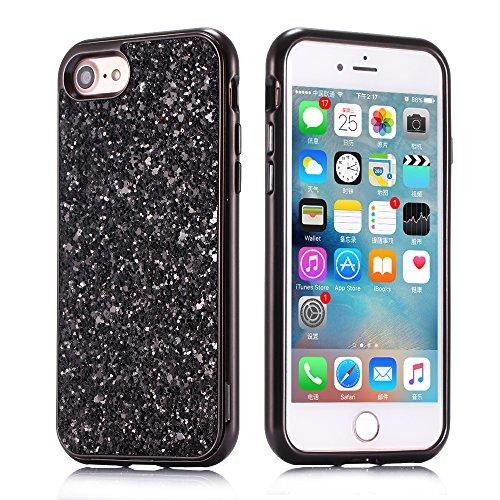 Huphant Cover iPhone 7 Custodia iPhone 8 Silicone Case per iPhone 2019/7/iPhone 8 Ultra Sottile 2-in-1 Struttura Duro Anti-Graffio Phone Case Waterproof con Fashion
