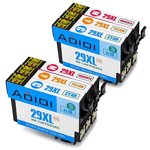 Aoioi 29 XL Sostituzione per Cartucce Epson 29XL Compatibili con Epson XP-342 XP-245 XP-442 XP-332 XP-432 XP-345 XP-247 XP-235 XP-335 XP-435 XP-255 XP-352 XP-452 XP-455 (2 Ciano,2 Magenta,2 Giallo)
