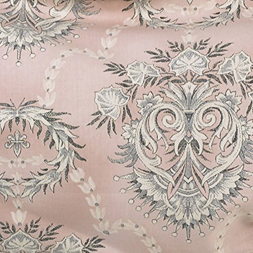 Cotton Tale Designs Nightingale Flower Fabric, Pink Background