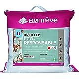 Blanrêve - Oreiller Eco Responsable - 60x60cm - confort moelleux