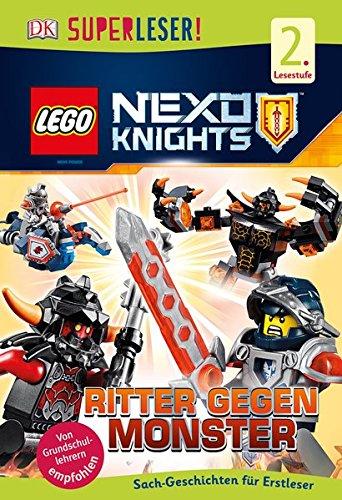 Preisvergleich Produktbild SUPERLESER! LEGO® NEXO KNIGHTS™. Ritter gegen Monster: 2. Lesestufe Sach-Geschichten für Erstleser