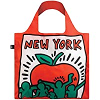 LOQI LOQI Keith Haring New York Bag Travel Tote Red