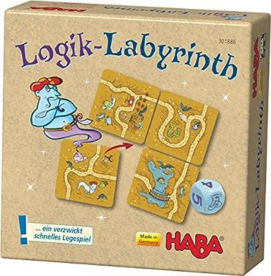 Haba 301886–Logique de Labyrinthe, Lege Jeu