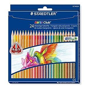 Staedtler 127NC12lápices de colores Noris Club contenido 12, 12 Farbstifte, multicolor, 1