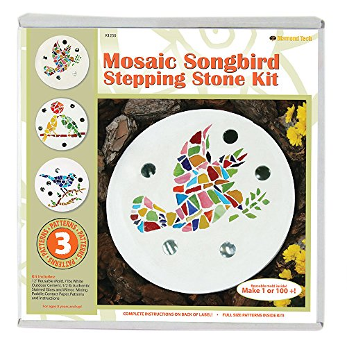 Mosaic Stepping Stone Kit-Songbird