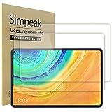 Simpeak 2-pack skärmskydd kompatibelt med Huawei MatePad Pro 5G 10,8 tum, skärmskydd härdat glas ersättning för Huawei MatePa