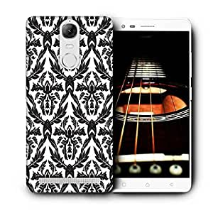Snoogg Christmas Leaves Printed Protective Phone Back Case Cover For Lenovo K5 Note