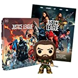 Justice League 2 Steelbook Esclusiva AMAZON (Blu-Ray) + Poster + Funko Acquaman