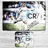 CR7 Ronaldo Laptop Skin + Mousepad Combo...