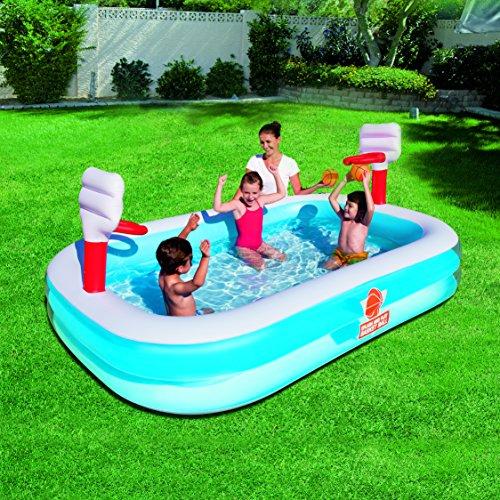 Bestway 54122 piscina hinchable para ni os con canastas for Piscinas hinchables grandes