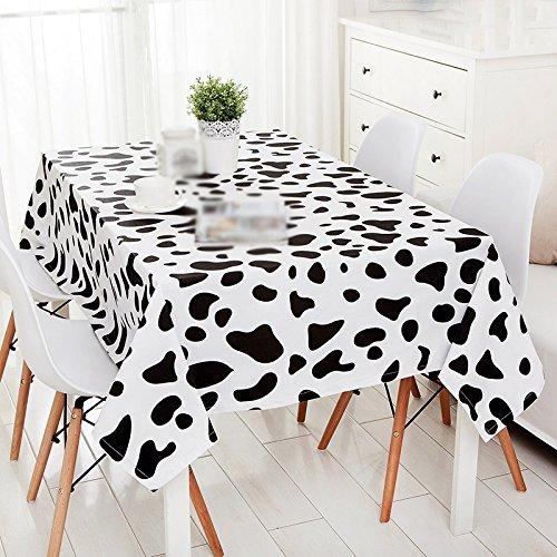 Tablecloth.A ASL Einfache Moderne Kühe Spot Tischdecke Wohnzimmer Couchtisch Tischdecke Rectangle Schreibtisch Tuch wählen (größe : 140 * 220CM)