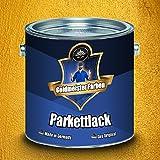Goldmeister Farben PARKETTLACK glänzend seidenmatt farblos Holzversiegelung Trppenlack Parkettpflege Parkettöl (20 L, Glänzend)