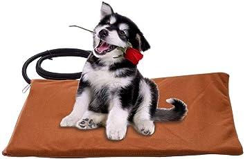 Waschbare Heizdecke Welpen Heizung Bett Matte Wasserdichte Sitzkissen Heizkissen Für Hund Katze Warme Korb