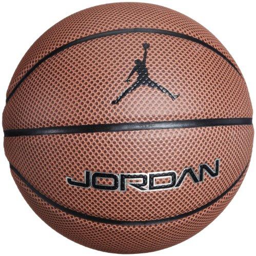 Nike Jordan Legacy Palla da Basket, Arancione/Dark Brown, 7