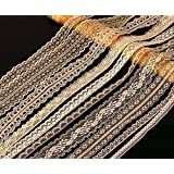 20 metres ASSORTED CREAM Vintage Lace Bridal Wedding Trim Ribbon CRAFT
