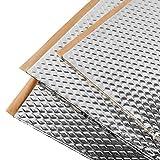 Noico 2 mm 3,4 m² zelfklevende anti-rammel trillingsdempende mat, auto akoestisch isolatie (lawaaireductie en geluiddemping voor auto)