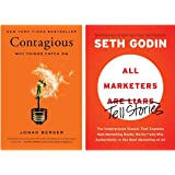 Contagious: Why Things Catch On +All Marketers Tell Stories: The Underground Classic That Explains How Marketing Really Works
