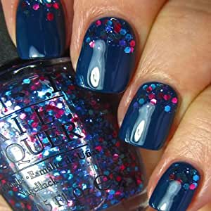 OPI Nail Polish Lacquer - OPI Euro Centrale Collection Released On 6th Of Feb - Set Of Two - Polka.com (15ml), I Saw... You Saw... We Saw... Warsaw (15ml)