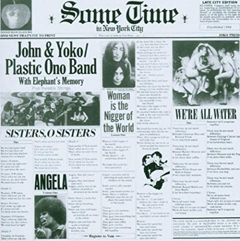 Some Time in New York City by John Lennon, Yoko Ono, Plastic Ono Band, The Mothers Of Invention (2005) Audio CD