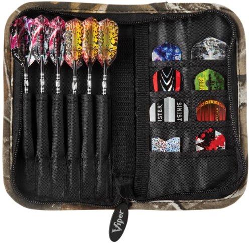 Casemaster Deluxe 6 Dart Nylon Aufbewahrungstasche Reisetasche, Unisex-Erwachsene, Realtree Hardwoods HD Camo, Einheitsgröße -