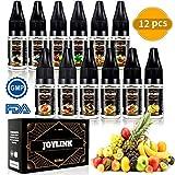 Liquide, Joylink Actualisé 12X10ml E Liquide Vape 80VG/20PG Vape E Liquide Ejuice Liquide Fabricant d'E-liquide Professionnel...