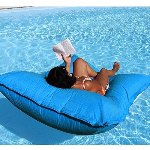 Pouf de piscine flottant Turquoise