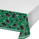 "Creative Converting Party Supplies, 54"" x 102"", Emerald Green"