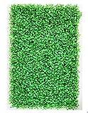 tcatec Künstliche Hecke Hängepflanzen Efeu Rebe Wand für Haus Zimmer Garten Hochzeit Girlande Außerhalb Dekoration - Grün