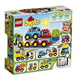 Enlarge toy image: LEGO 10816 Duplo My First Cars and Trucks - Multi-Coloured
