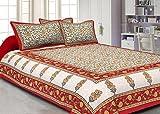 Jaipuri haat Traditional Print Cotton Si...