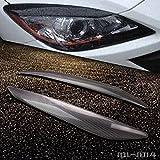 Phares pour Mazda 3Overlay un style Arcade Paupière en fibre de carbone 2010–2013