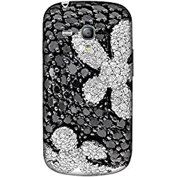 CaseGuy Designer Printed Back Case Cover for Samsung Galaxy S3 Mini I8190, Samsung I8190 Galaxy S III Mini, Samsung I8190N Galaxy S III Mini (Diamond Stones Bling For Girls)