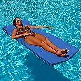 Die besten Foam Pool Floats - TRC Recreation Sunsation Pool Float, Bahama Blue Bewertungen
