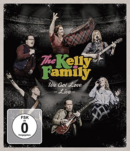 The Kelly Family – We Got Love – Live [Blu-ray]