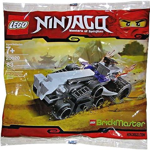 LEGO Ninjago: Mini Turbo Shredder (Brickmaster Exclusivo) Establecer 20020 (Bolsas)