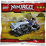 #7: LEGO Ninjago Brickmaster Exclusive Mini Figure Set #20020 Turbo Shredder Bagged
