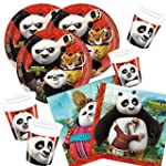 52-teiliges Party-Set Kung Fu Panda 3...