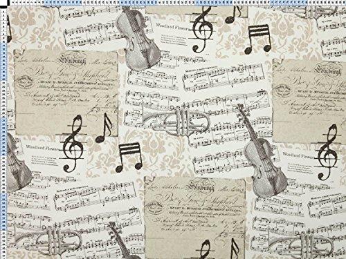 tela-de-tapiceria-tela-de-tapiceria-tela-de-tapiceria-tela-tela-de-la-cortina-tela-musique-algodon-e