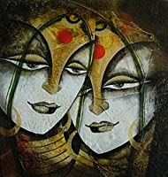 Friends (Mixed Media by Mukesh Mandal)