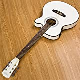 GFEI mince seau, white box, guitare folk, 102 cm