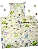 Biancheria da letto per bambini Cretonne 100% cotone con diversi roditori